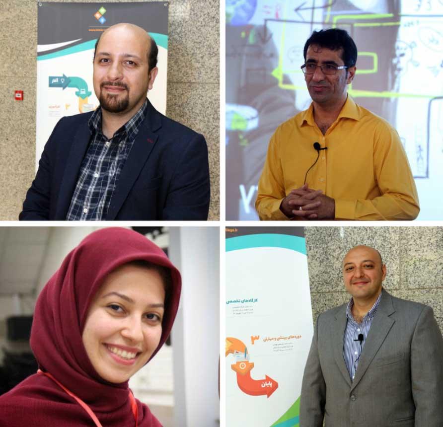 اساتید همراه در تور اکوسیستم استارتاپی ایران