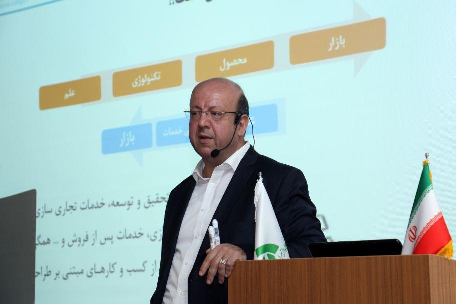 محمدرضا نظری، مدرس تجاریسازی